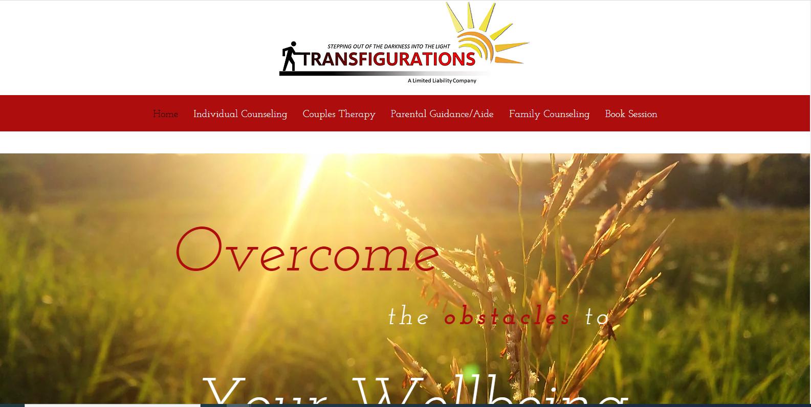 Transfigurations, LLC Website
