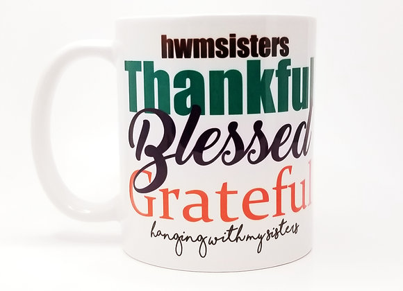 Thankful & Blessed Mug
