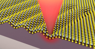 Altering the properties of 2-D materials at the nanometer scale
