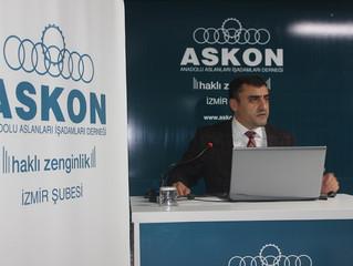 ASKON'DA MÜŞTERİ KAZANMA TEKNİKLERİ SEMİNERİ