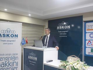 """ASKON ÜYELERİNE """"KOSGEB DESTEKLERİ"""" ANLATILDI"""