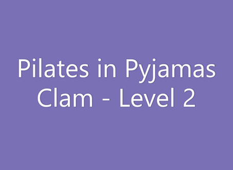 Clam - with feet raised