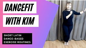 Keep Fit with Kim - 15 Minute aerobic wo