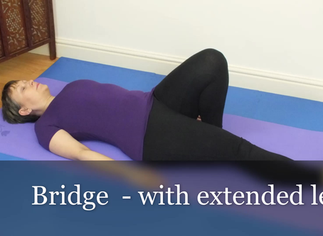 Bridge - with leg extended