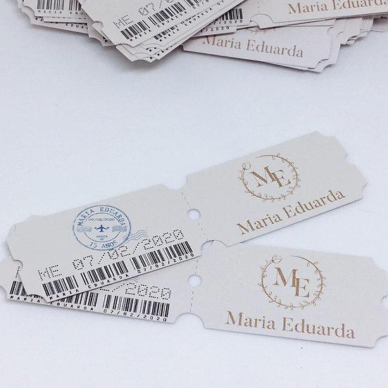 Convite individual - Mini Voucher