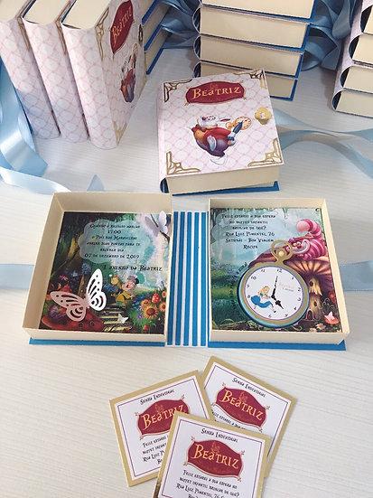 Convite livro Alice