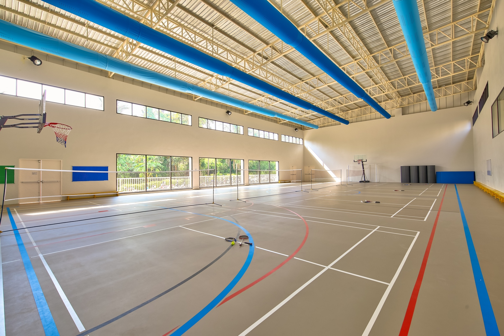 Air conditioned Sports Hall