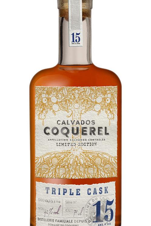Calvados Triple Cask - 15 years, France