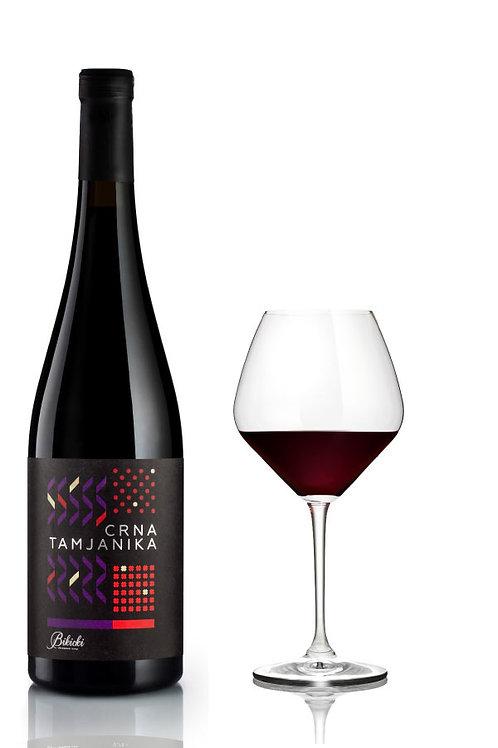 Crna Tamjanika - organic wine, Serbia