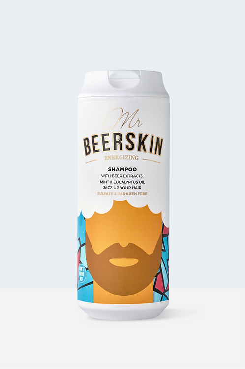 MR BEERSKIN ENERGYZING SHAMPOO, 440ml