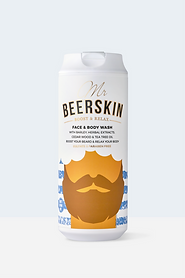 Mr Beerskin cosmetics Face and Beard Was