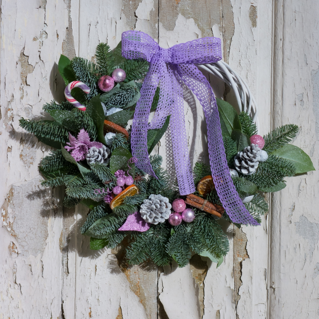 New Year Wreath made by Botanika.rs