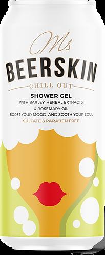 MS BEERSKIN CHILL OUT SHOWER&BATH GEL, 440ml