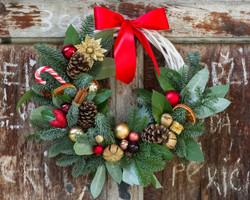 Wreath made by Botanika.rs