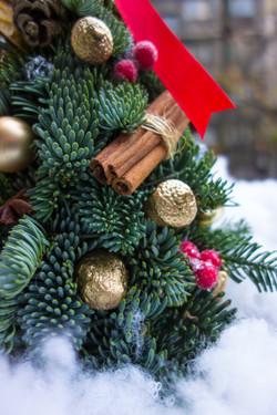 New Year Tree made by Botanika.rs