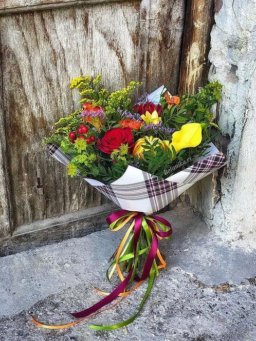Cozy Floral&Plaid