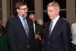Howard Wall and George Will