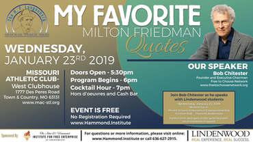 My Favorite Milton Friedman Quotes