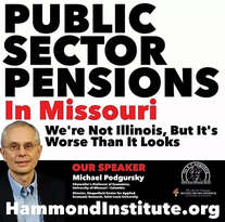 Public Sector Pensions in Missouri: We're Not Illinois, But It's Worse Than It Looks