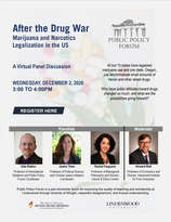 After the Drug War: Marijuana and Narcotics Legalization in the US