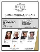 Public Policy Forum - Tariffs and Trade