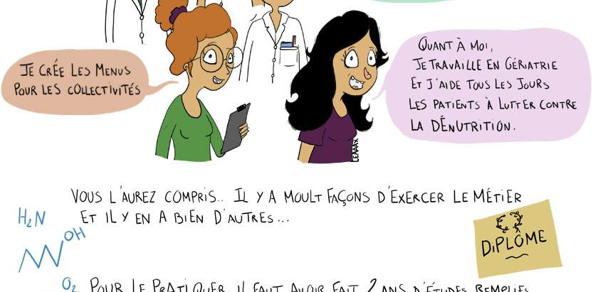 Le métier de diététicienne : perte de poids et régimes stricts  ?