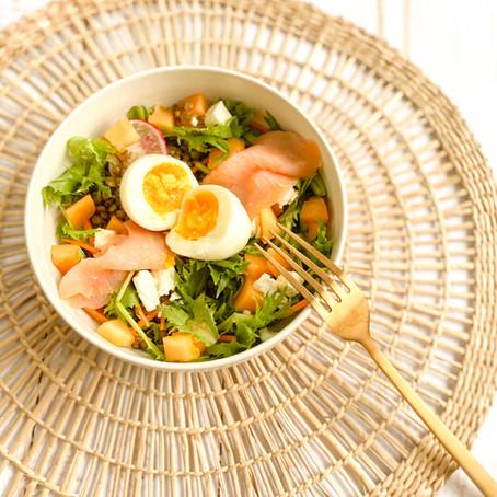 Salade de lentilles ✨