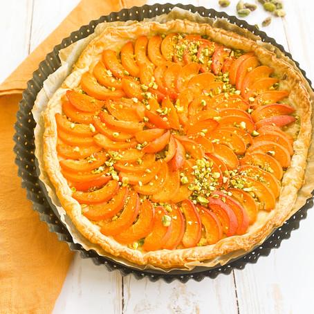 Tarte abricots pistache✨
