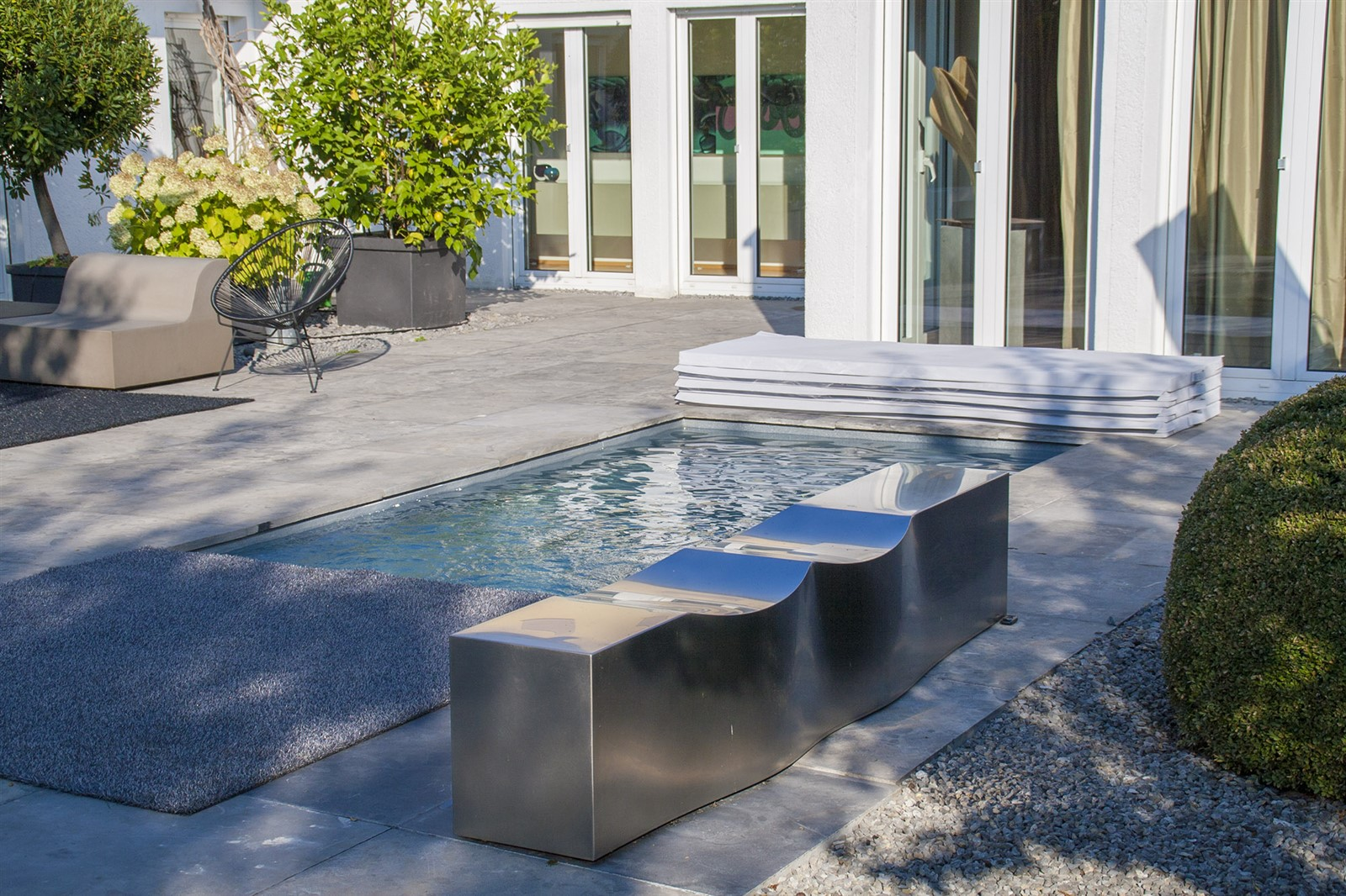 Gärten & Pools Sven Studer | C- Side der mini Garten Pool