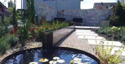 Wasserführung im Garten - Gärten & Pools Sven Studer AG