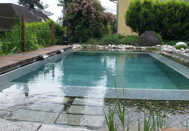 schwimmteich bauen- bauen lassen