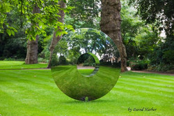 Kunst im Garten von David Harber - Gärten & Pools Sven Studer AG