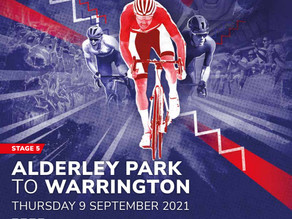 Tour of Britain 2021 coming through Holmes Chapel!