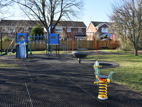 New play area in Strathmore Close