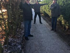 Holmes Chapel Parish Council Opens up Footpaths