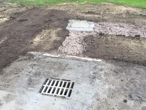 Rugby Club funds drainage works at the Holmes Chapel Community Centre