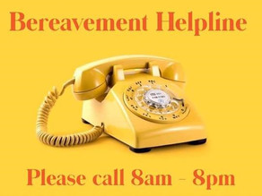 COVID-19 NATIONAL BEREAVEMENT HELPLINE