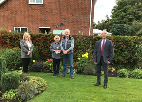Winners of the Front Garden Competition 2020