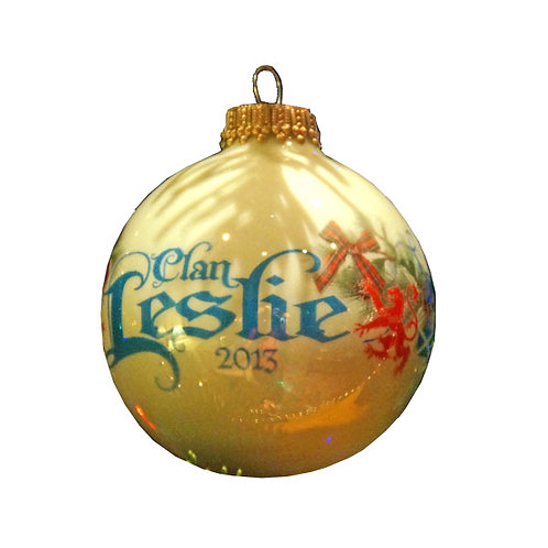 2016 Clan Leslie Christmas Ornament