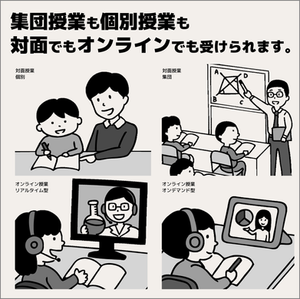 対面授業でもオンライン授業でも