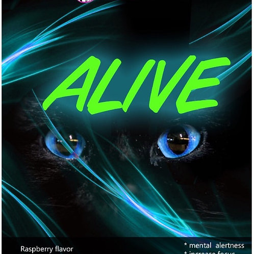 ALIVE - Pre Workout (raspberry)  500g