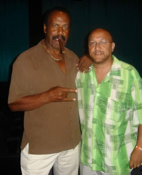 """With filmmaker and NFL veteran Fred """"The"""