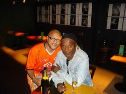With comedian Paul Mooney