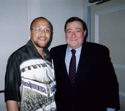 With Top Rank Promoter Bob Arum