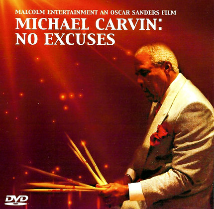 Michael Carvin: No Excuses DVD US/Can S&H included