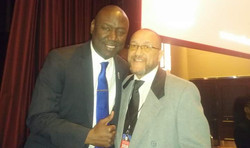 With civil rights lawyer Benjamin Crump