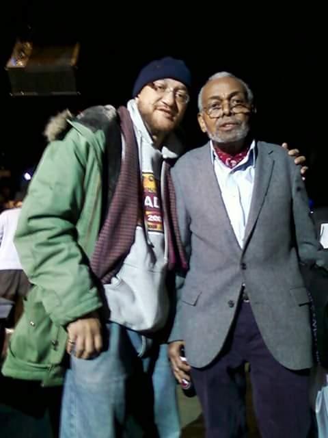 With Amiri Baraka