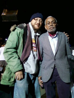 With Amiri Baraka