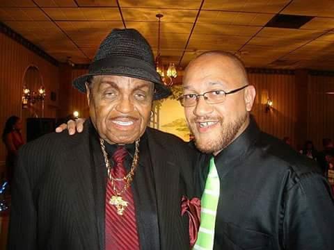 With Joe Jackson
