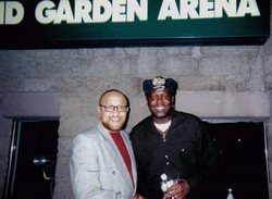 With Bernie Mac